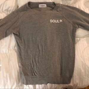 Grey Soulcycle Crewneck Sweatshirt Small